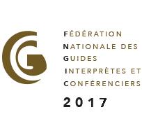 Logo d'adhérent 2017 à la FNGIC (Fédération Nationale des Guides Interprètes et Conférenciers)