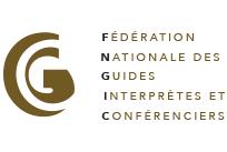 Logo d'adhérent à la FNGIC (Fédération Nationale des Guides Interprètes et Conférenciers)